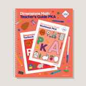 Dimensions Math Teacher's Guide Pre-KA - Singapore Math