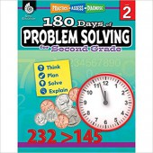 180 Days of Problem Solving for Second Grade – Teacher Created Materials
