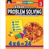 180 Days of Problem Solving for Third Grade – Teacher Created Materials