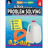 180 Days of Problem Solving for Fourth Grade – Teacher Created Materials