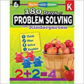 180 Days of Problem Solving for Kindergarten – Teacher Created Materials