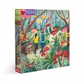 Hike in the Woods 1000 Piece Puzzle - eeBoo