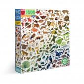 A Rainbow World 1000 Piece Puzzle - eeBoo
