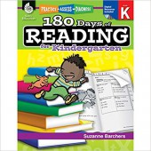180 Days of Reading for Kindergarten - Teacher Created Materials