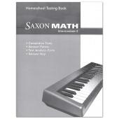 Saxon Math 4 Intermediate Test Book