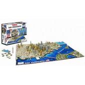 4D Cityscape San Fransisco Puzzle