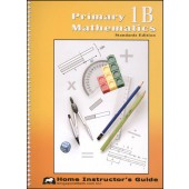 Singapore Primary Math  Standards Editon 1B Home Instructor's Guide