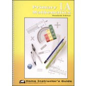 Singapore Primary Math Standards Editon 1A Home Instructor's Guide