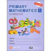 Singapore Primary Math Workbook 6B US Edition