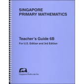 Primary Mathematics US Edition 6B Teacher's Edition