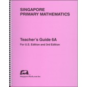 Primary Mathematics US Edition 6A Teacher's Edition