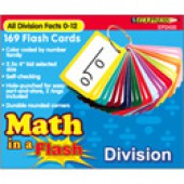 Math in a Flash™ Color-Coded Flash Cards, Division