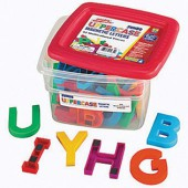 AlphaMagnets® Jumbo Uppercase Multicolored Magnets