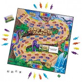 Dino Math Tracks Game