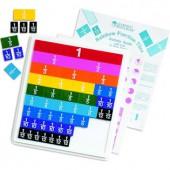 Rainbow Fraction® Tiles Activity Set