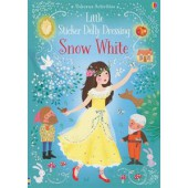 Usborne Little Sticker Dolly Dressing Snow White