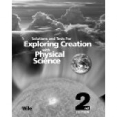 Exploring Creation with Physical Science Solutions & Test Book, 2nd Edition (Apologia)