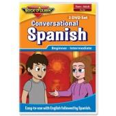 Conversational Spanish 2 DVD Set