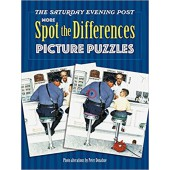 The Saturday Evening Post  MORE Spot the Difference Picture Puzzles - Dover