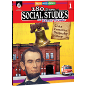 180 Days of Social Studies for First Grade - Teacher Created Materials