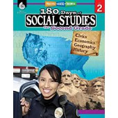 180 Days of Social Studies for Second Grade - Teacher Created Materials
