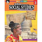 180 Days of Social Studies for Third Grade - Teacher Created Materials