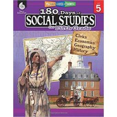 180 Days of Social Studies for Fifth Grade - Teacher Created Materials