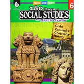 180 Days of Social Studies for Sixth Grade - Teacher Created Materials
