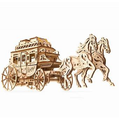 Stagecoach Engineering Kit - UGears