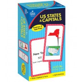 U.S. States & Capitals Flash Cards