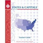 States & Capitals Teacher Manual