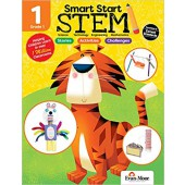 Smart Start STEM Grade 1 Activity Book Hands-on STEM Activities and Critical Thinking Skills Evan-Moore