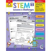 STEM Lessons and Challenges, Grade 3  Evan-Moor