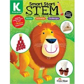 Smart Start STEM Kindergarten Activity Book Hands-on STEM Activities and Critical Thinking Skills Evan-Moore