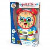 Super Telly Teaching Time Clock (Primary Version) - The Learning Journey