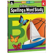 180 Days of Spelling and Word Study for Kindergarten - Teacher Created Materials