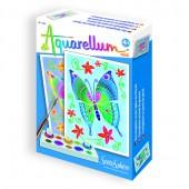Auarellum Butterflies Mini Painting Kit