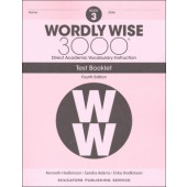 Wordly Wise 3000 Book 3 Tests (4th Edition)