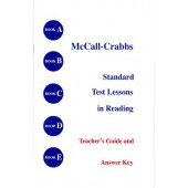 McCall Crabbs Standard Test Lessons in Reading A-E Guide & Answer Key