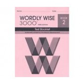 Wordly Wise 3000 4th Edition Test Booklet Grade 2