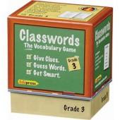 Classwords Game, Grade 3 - EduPress