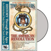 Time Travelers American History Study: The American Revolution CD
