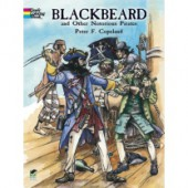 Blackbeard and Others Coloring Book