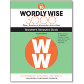 Wordly Wise 3000® 4th Edition Teacher's Resource Book 10