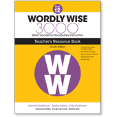 Wordly Wise 3000® 4th Edition Teacher's Resource Book 12