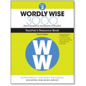 Wordly Wise 3000® 4th Edition Teacher's Resource Book 3