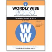 Wordly Wise 3000® 4th Edition Teacher's Resource Book 8