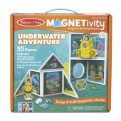 Underwater Adventure with Submarine  - Magneticity Magnetic Tiles Building Playset – Melissa & Doug STEM