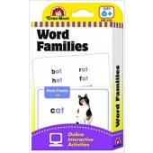 Word Families Flashcards  Evan-moor