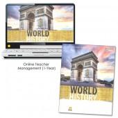 HMH Social Studies World History Homeschool Package Grade 9-12